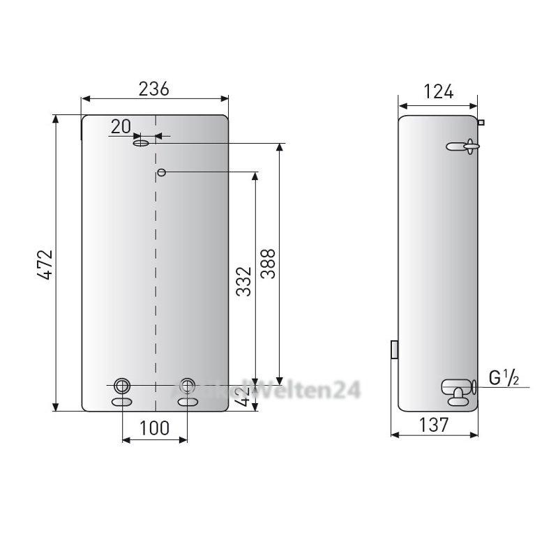 ariston ark solar durchlauferhitzer 18 kw 400 v temperatur einstellbar. Black Bedroom Furniture Sets. Home Design Ideas