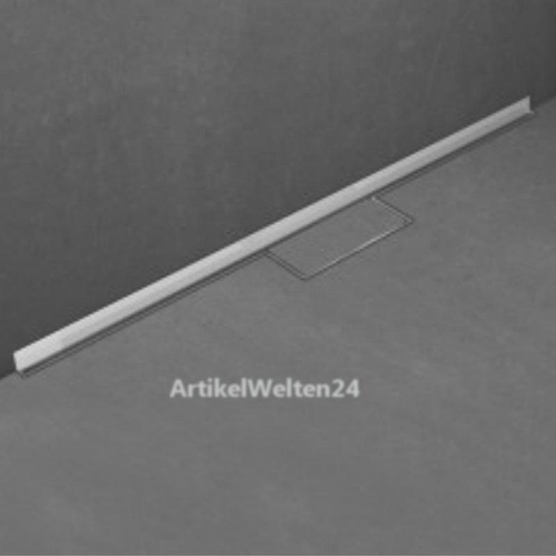 duschrinne edelstahl 80cm fliese komplett set ess easydrain wall waterstop befliesbar. Black Bedroom Furniture Sets. Home Design Ideas