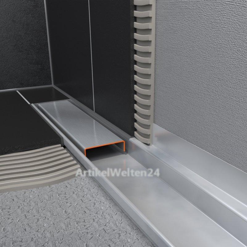 ess easy drain compact 30 ff zero duschrinne komplett. Black Bedroom Furniture Sets. Home Design Ideas