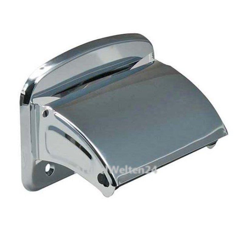 klorollenhalter papierhalter standard metall verchromt. Black Bedroom Furniture Sets. Home Design Ideas