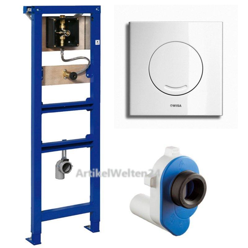 wisa xs urinal vorwand element inkl nil drucksp ler platte komplett set. Black Bedroom Furniture Sets. Home Design Ideas