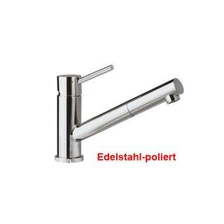 Villeroy & Boch Como Shower Küchen Armatur Edelstahl massiv, poliert ...