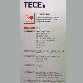 TECE Füllventil F10 Schwimmerventil Universal
