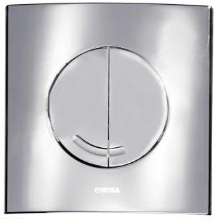 Dualflush 2 Tasten 8050414601 16x16 cm WISA XS WC-Bedientaste Argos DF weiss